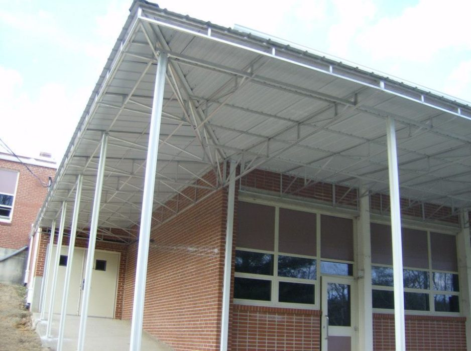 Patio Metal Awning
