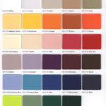 Ferrari Color Chart