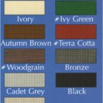 Roll Formed Canopy Color Chart